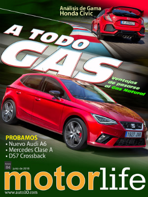 Coches a todo gas… natural